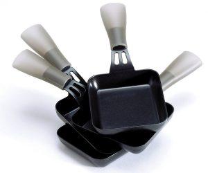coupelles d'appareil à raclette