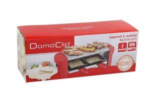 Appareil à raclette Domoclip DOC156R carton